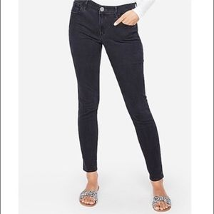 EXPRESS Mid-Rise Stretch Legging Jeans
